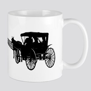 Horse and Buggy Mugs