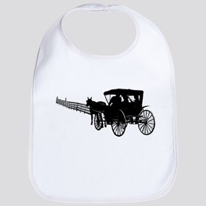 Horse and Buggy Bib