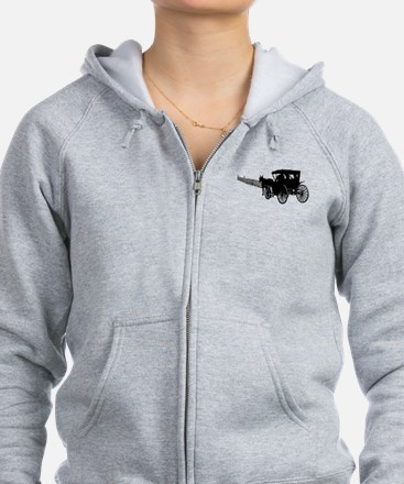 Horse and Buggy Zip Hoodie