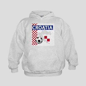 Croatia Soccer Kids Hoodie