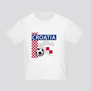 Croatia Soccer Toddler T-Shirt
