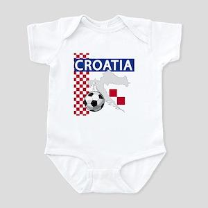 defb2242316 Croatia Soccer Baby Bodysuits - CafePress