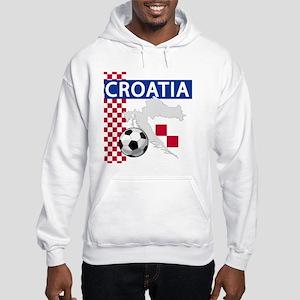 Croatia Soccer Hooded Sweatshirt
