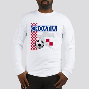 Croatia Soccer Long Sleeve T-Shirt
