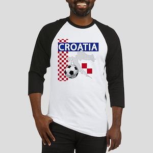 Croatia Soccer Baseball Jersey