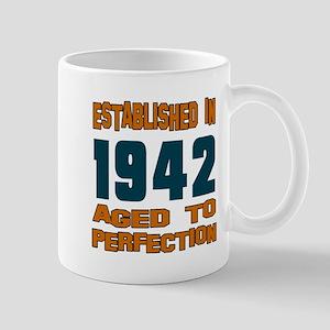 Established In 1942 Mug