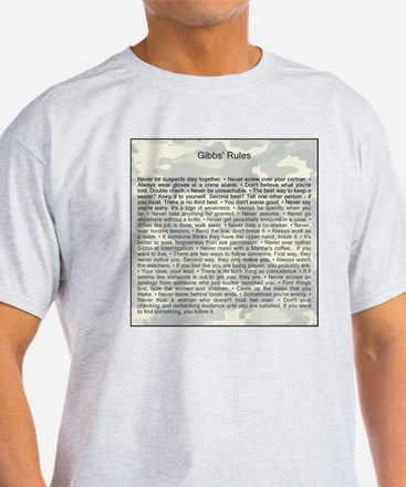 Gibbs' Rules With Border T-Shirt