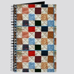 Colorful quilt pattern Journal