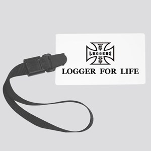 logger for life Large Luggage Tag