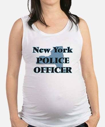 New York Police Officer Maternity Tank Top