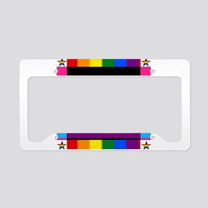 Nobody Knows I'm a Gay Demise License Plate Holder
