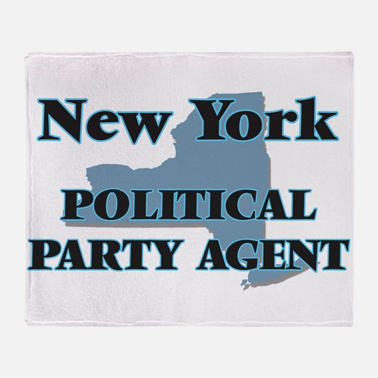 New York Political Party Agent Throw Blanket