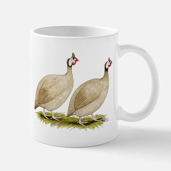 Guineas Buff Dundotte Fowl Mugs