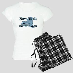 New York Private Investigat Women's Light Pajamas