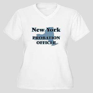 New York Probation Officer Plus Size T-Shirt