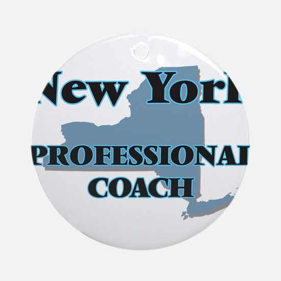 New York Professional Coach Round Ornament