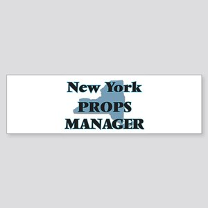 New York Props Manager Bumper Sticker