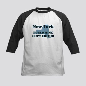 New York Publishing Copy Editor Baseball Jersey