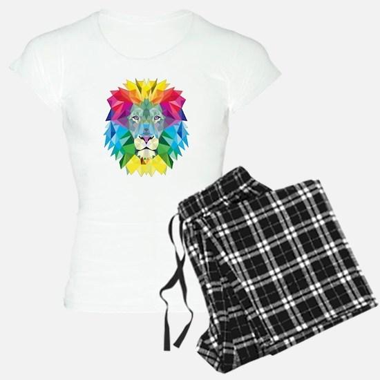 Rainbow Lion Pajamas