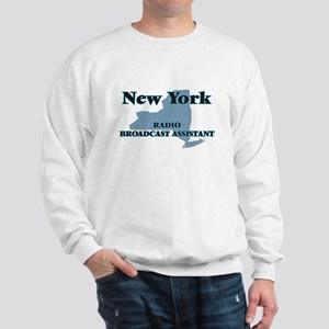 New York Radio Broadcast Assistant Sweatshirt