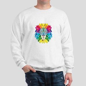 Rainbow Lion Sweatshirt