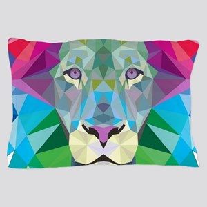 Rainbow Lion Pillow Case