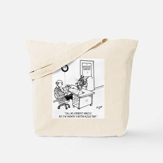 Inventor Cartoon 1932 Tote Bag