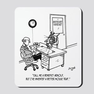 Inventor Cartoon 1932 Mousepad