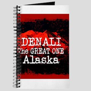 DENALI MOUNTAIN ALASKA RED Journal
