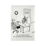 Inventor Cartoon 1932 Rectangle Magnet (10 pack)