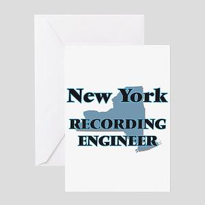New York Recording Engineer Greeting Cards