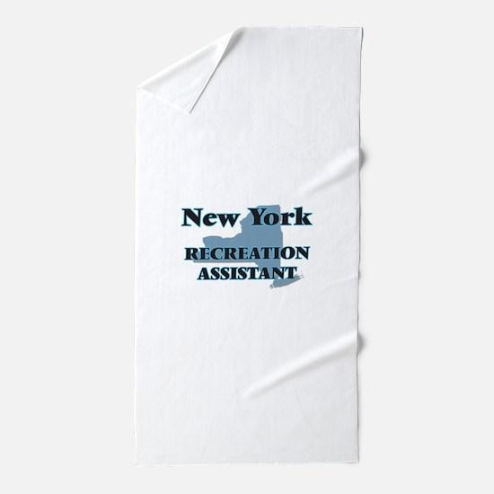 New York Recreation Assistant Beach Towel