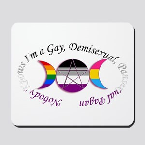 Nobody Knows I'm a Gay Demisexual Pansexual Pagan