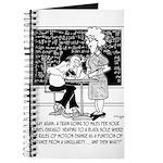 Math Class Cartoon 9478 Journal
