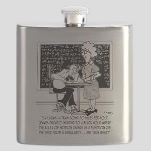 Math Class Cartoon 9478 Flask