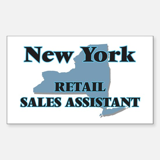New York Retail Sales Assistant Decal