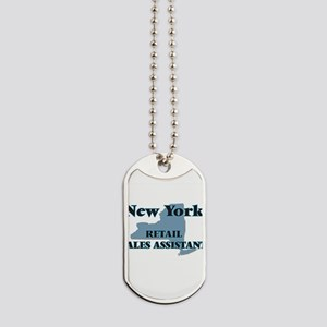 New York Retail Sales Assistant Dog Tags