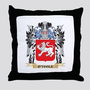O'Toole Coat of Arms - Family Crest Throw Pillow