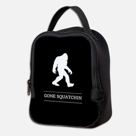 Gone Squatchin Neoprene Lunch Bag