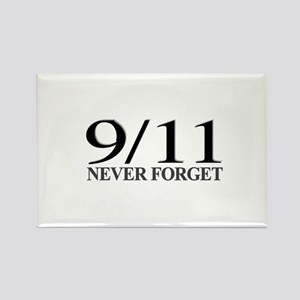 9/11 Never Forget Rectangle Magnet