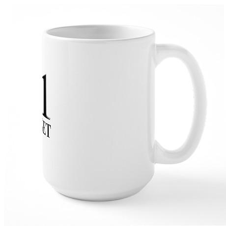 9/11 Never Forget Large Mug