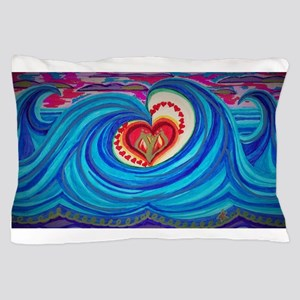 Ocean Lotus Pillow Case