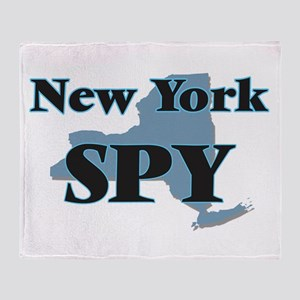 New York Spy Throw Blanket