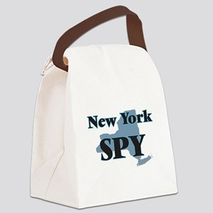 New York Spy Canvas Lunch Bag