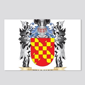 Palacios Coat of Arms - F Postcards (Package of 8)