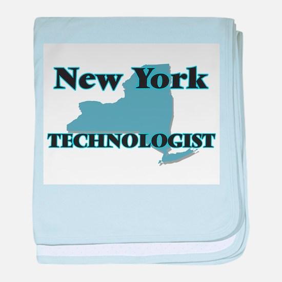 New York Technologist baby blanket