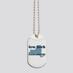 New York Telemarketer Dog Tags