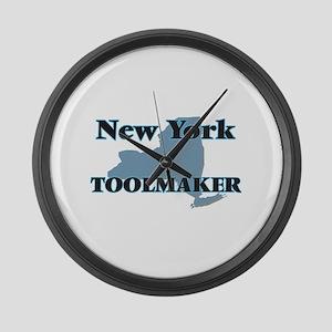 New York Toolmaker Large Wall Clock