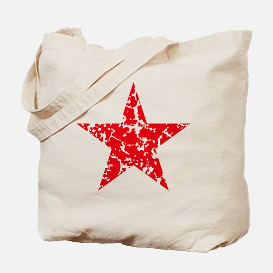 Red Star Vintage Tote Bag