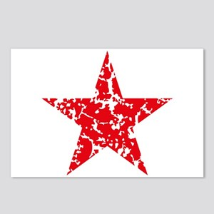 Red Star Vintage Postcards (Package of 8)